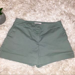 Loft green riviera  shorts size 2